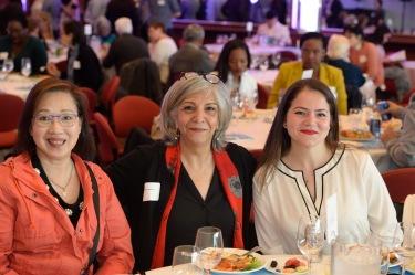 Student authors Lisa, Mahnaz, and Larysa